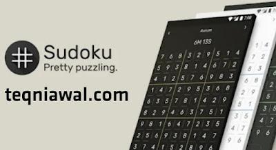 sudoku the clean one - أفضل ألعاب الاندرويد 2022
