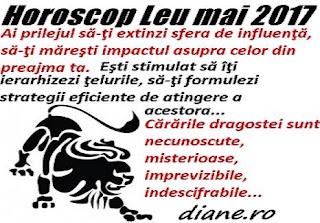 Horoscop mai 2017 Leu