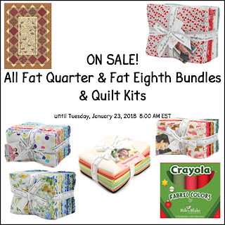Crazy Quilt Girl Fabric Shop Sale