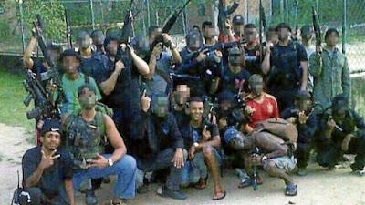 Resultado de imagem para bandidos armados no brasil