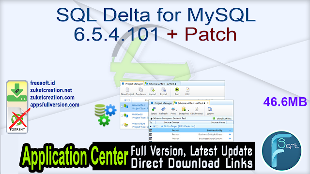 SQL Delta for MySQL 6.5.4.101 + Patch