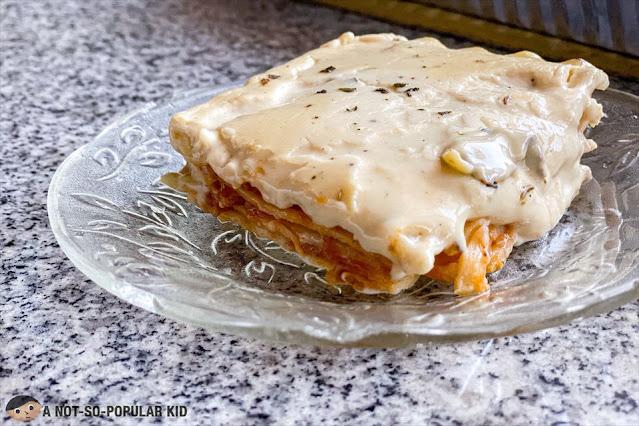 The Hungry Sib's Best-Tasting Classic Lasagna, Metro Manila
