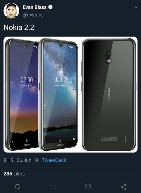 Nokia 2.2 Leaked
