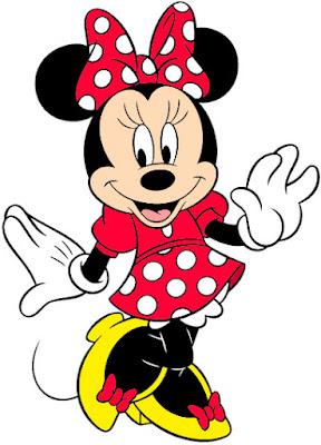 Minnie vermelha PNG