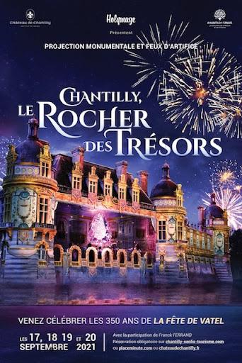 Su & luz ′′ Chantilly, La Roca de los Tesoros ′′ Del 17 al 20 de septiembre