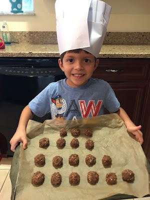 Peanut Butter, No-Bake Energy Balls for Kids to add Protein to their Diets