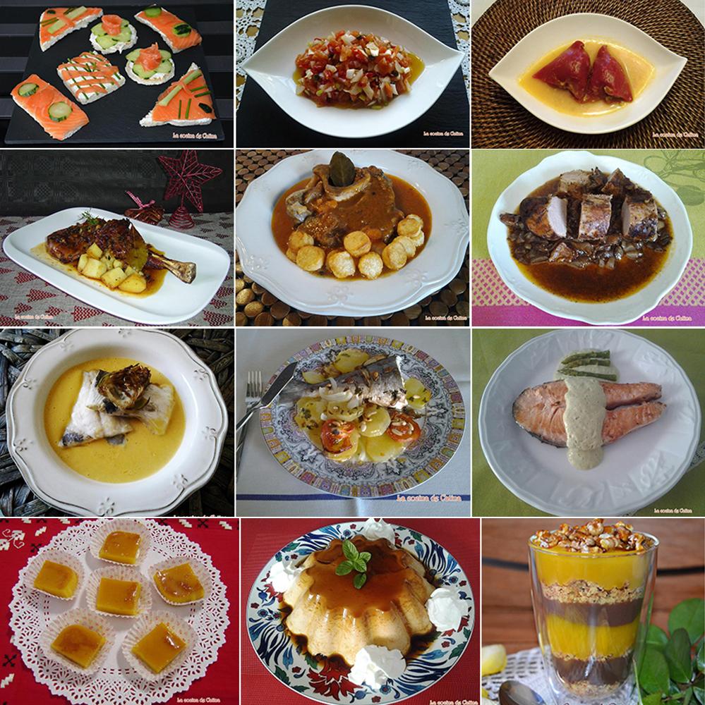 La cocina de catina ideas para una cena de nochebuena en for Ideas para una cena de picoteo