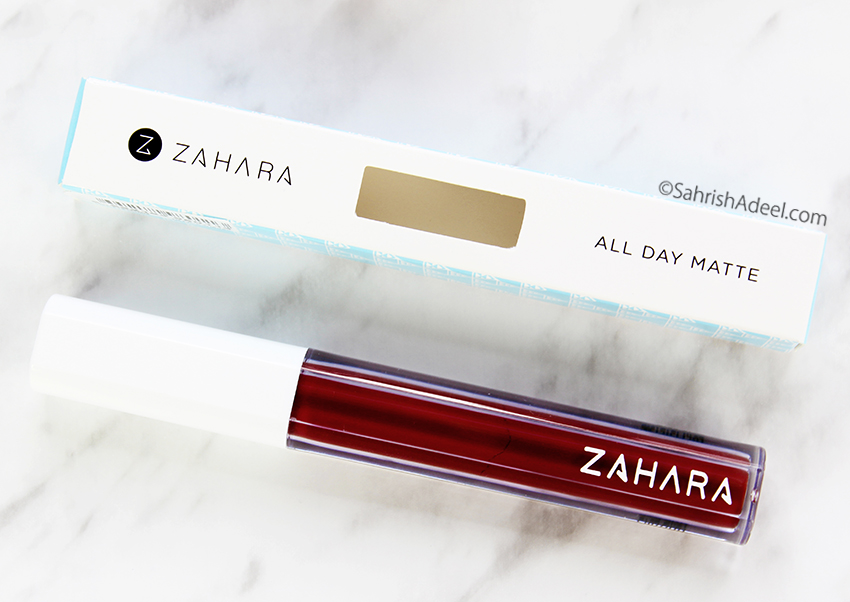 Halal Lipstick in Boss by Zahara Cosmetics - Review, Swatches & Discount CodeHalal Lipstick in Boss by Zahara Cosmetics - Review, Swatches & Discount Code