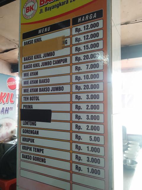 Bakso Kikil Siberut Indah - Kuliner Ponorogo Punya Euy.