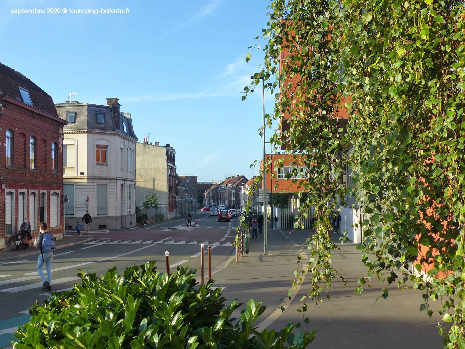 Sortie des élèves Collège Marie Curie, Tourcoing 2020