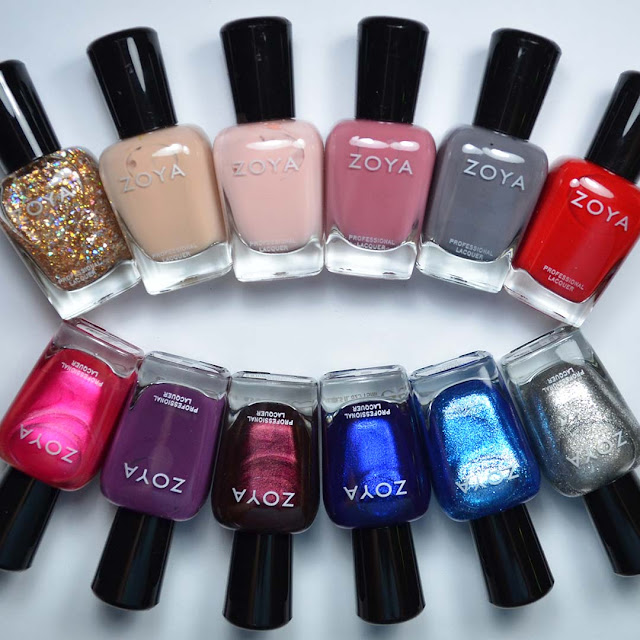 zoya winter nail polish set