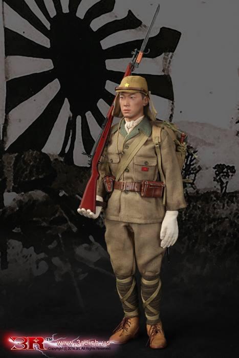 Takuya Hayashi 1//6 Scale Japanese Flag /& Banner Set 3R Action Figures
