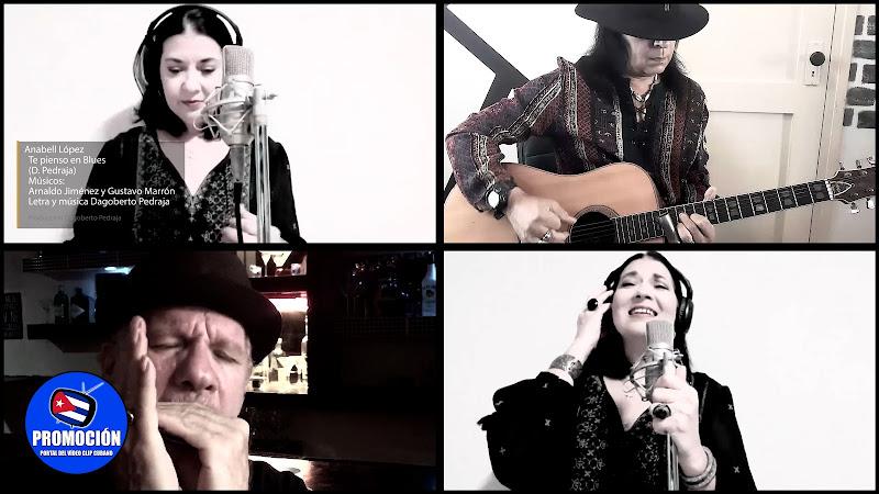 Anabell López - ¨Te pienso en blues¨ - Videoclip - Director: Dagoberto Pedraja. Portal Del Vídeo Clip Cubano. Música cubana. Canción. Música.