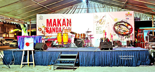 Sandakan Food Festival 2019 Stage