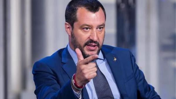 Δημοσκόπηση στην Ιταλία: Πρώτη σε πρόθεση ψήφου παραμένει η Λέγκα του Ματέο Σαλβίνι