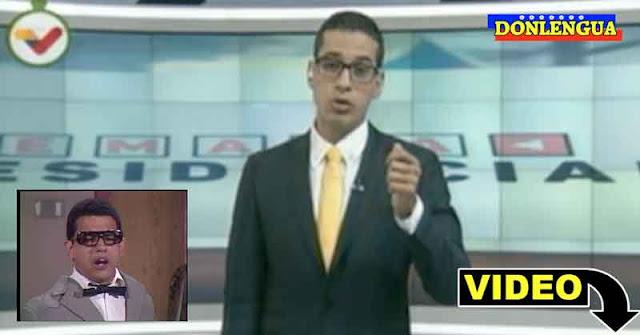 FOCO FIJO   Periodista mediocre de VTV dice que los desplazados de Apure son apenas una simulación
