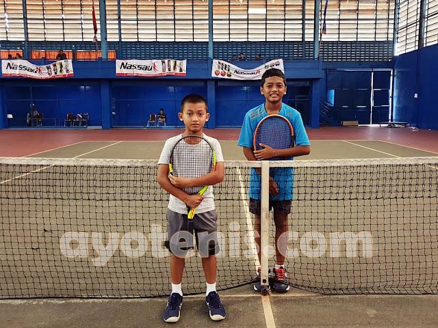 Atlet JITA Berjaya di Kejurnas Tenis Yunior New Armada Cup XXIV