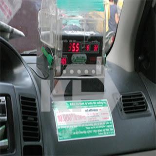 Chốt niêm phong 4 ngạnh sử dụng cho taxi, xe bồn