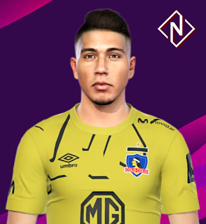 PES 2019 Faces Brayan Cortes by Nahue