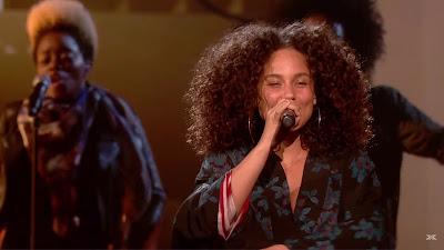 Alicia Keys - Blended Family ( The X Factor )