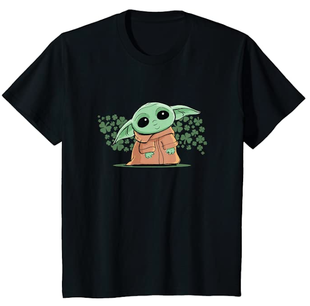Men's and Kids Baby Yoda Shirt