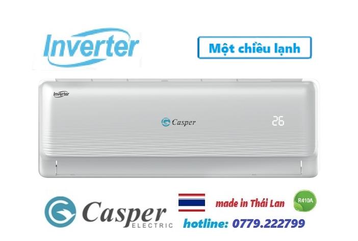 Điều hòa Casper 18000BTU inverter 1 Chiều Model 2019