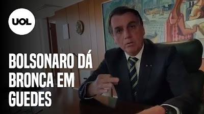 Bolsonaro desiste do Renda Brasil -Paulo Guedes e Cartão vermelho – Pazuello efetivado