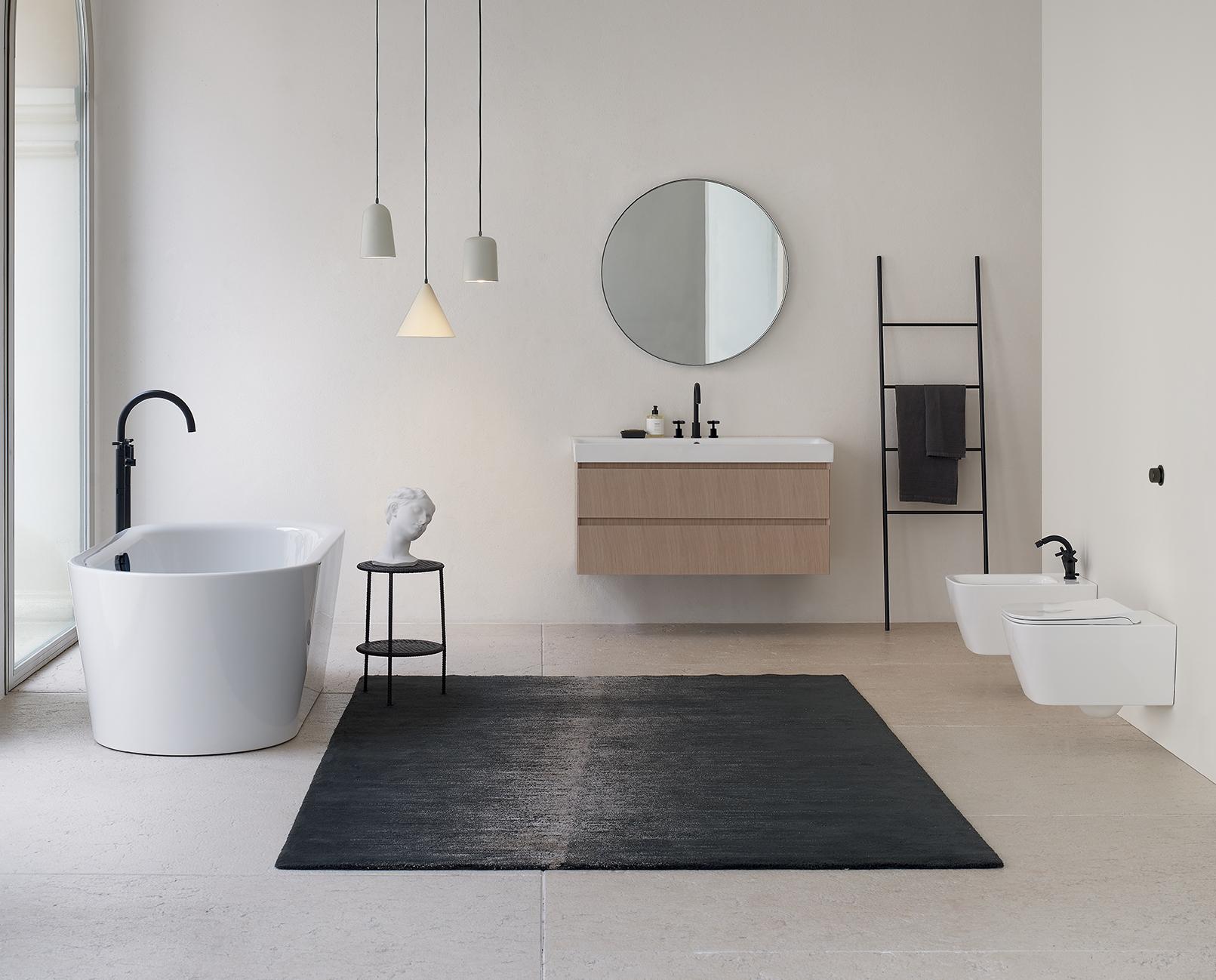 NUBES - la nuova collezione firmata GSI per il bagno minimalista