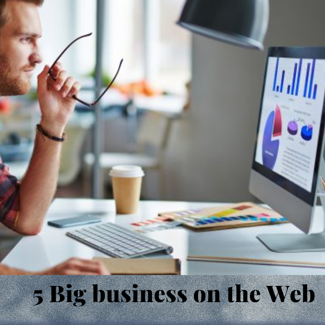 5 Big business on the Web - Hire A Virtual Assistant