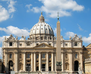 Pope Paul III renewed Michelangelo's commission to  work on St Peter's Basilica during his time in office