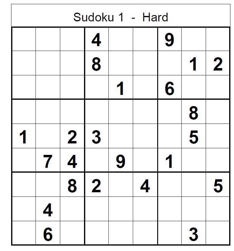 Hardest Sudoku - 0425