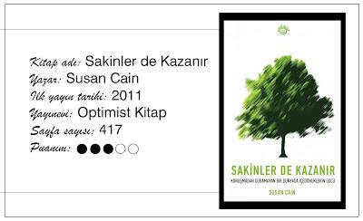Susan Cain, introvert, içedönük, kitap yorumu