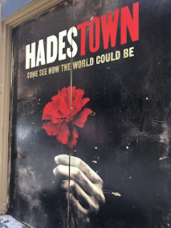 Hadestown Logo Stage Door Broadway Musical