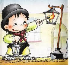 encendedor faroles dibujo