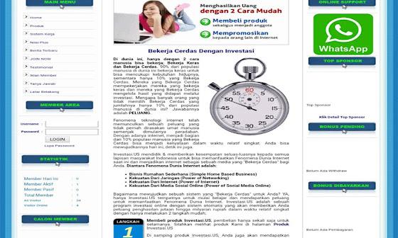Script MLM System Matrix 10x5 Level