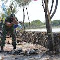 Bermodalkan Godem, Koptu Jarwadi Pecahkan Batu Untuk Bahan Pembuatan Talud di Sayung
