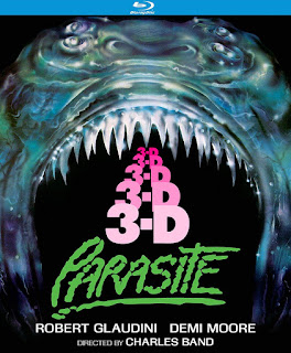 Kino Lorber's PARASITE 3D (Special Edition) Blu-ray is the Vault Master's Pick of the Week for 10/22/2019!