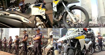 Guarda Civil de São Paulo deve criar pelotão de motocicletas para centralizar operações
