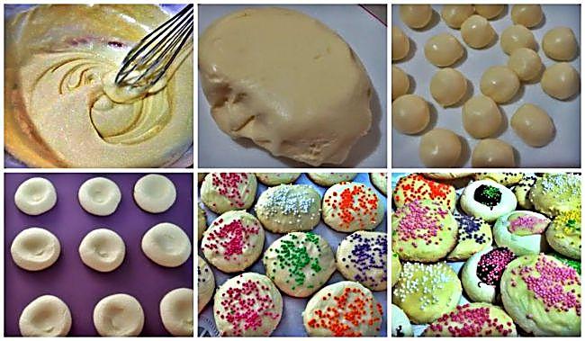 Preparación de las galletas de leche condensada y chocolate