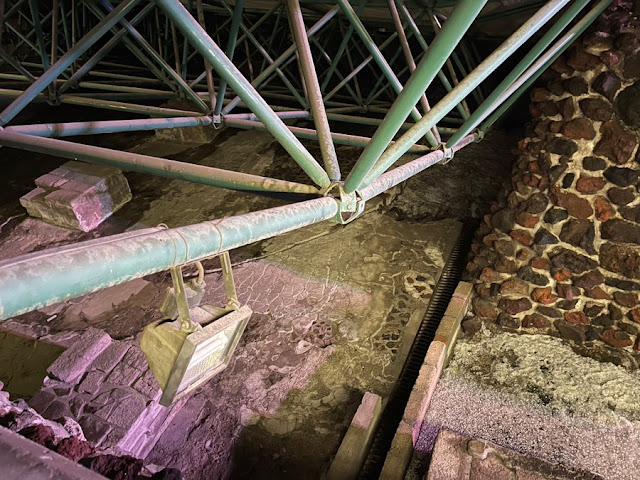 No hay daños graves en el Templo Mayor, tras granizada: Frausto