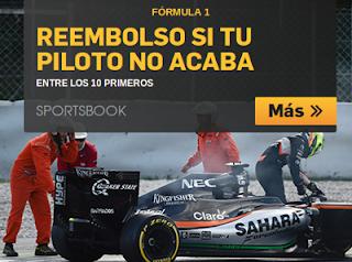betfair bono 25 euros GP Belgica F1 28 agosto 2016