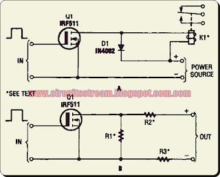 Simple Hexfet Switch Circuit Diagram