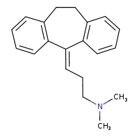 Amitriptyline is a prescription drug that's used to treat depression. It's sometimes known by its former brand name, Elavil