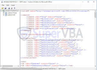 Cara Install Custom UI Editor Excel