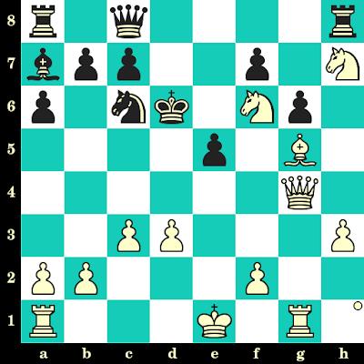 Les Blancs jouent et matent en 2 coups - Maksim Chigaev vs Andrew Tang, Internet, 2020