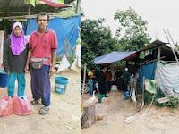 Tinggal di Tenda, Ayah Ini Bisa Kuliahkan Tiga Anaknya