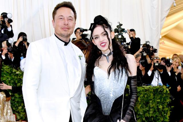 Grimes and Elon Musk