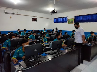 Persiapan Asesmen Nasional 2021, SMK TI Bali Global Badung Langsungkan Kegiatan Simulasi