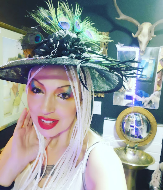 The Countess of Brighton and Hackney in her new hat