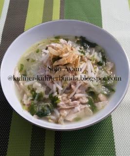 Menu makan siang atau makan malam untuk sebagian orang Indonesia niscaya tak jauh Resep Soto Ayam Nikmat, Sehat, Lezat...Hmmm Apa Lagi Ya??